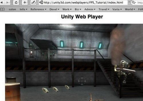 Unity Web Player截图1