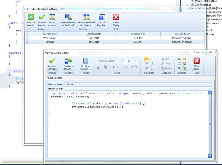 Information Analysis for Visual Studio截图1