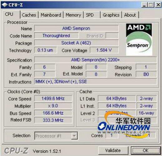 Cpu-Z(64bit)截图1