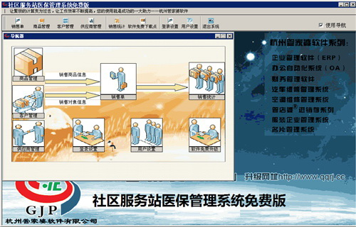 社区服务站医保管理系统截图2