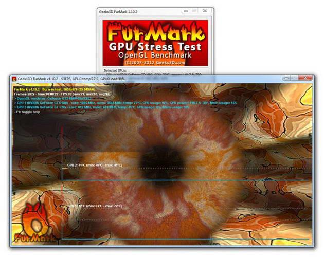 FurMark截图1