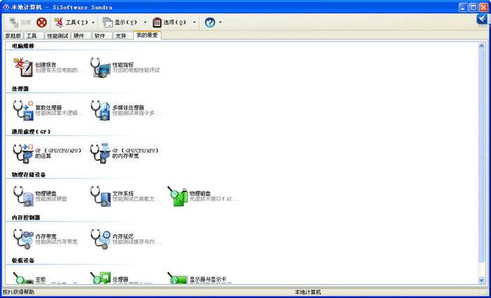 SiSoftware Sandra截图1