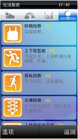 知天气-江西 For  S60V5截图1