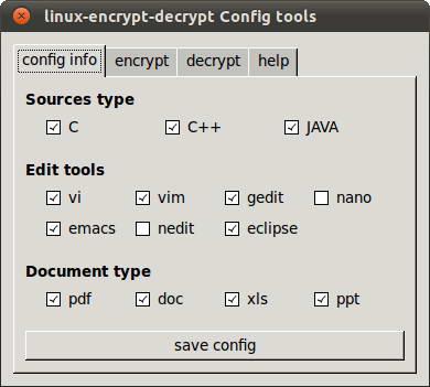 健明linux平台源代码防泄漏软件 For Ubuntu11.04截图1