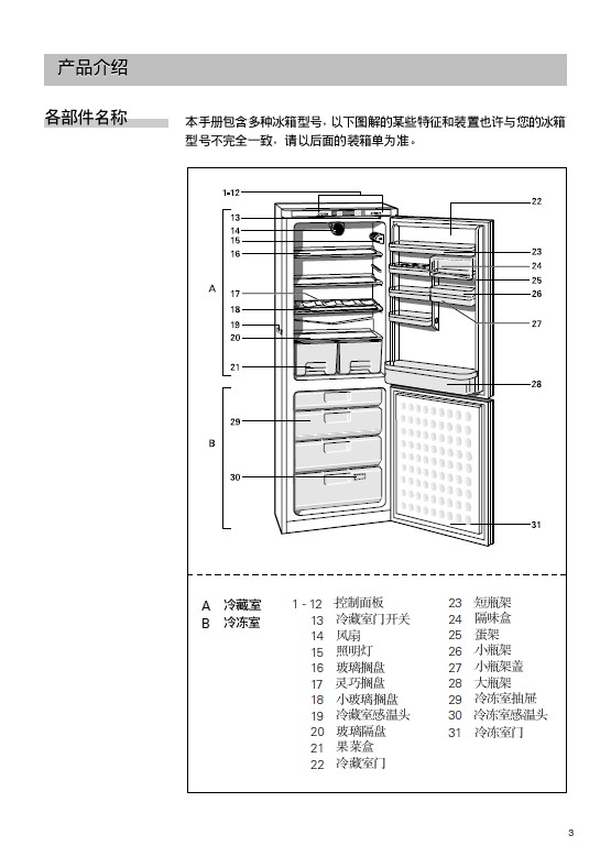 西门子 KG21E66T冰箱 使用说明书