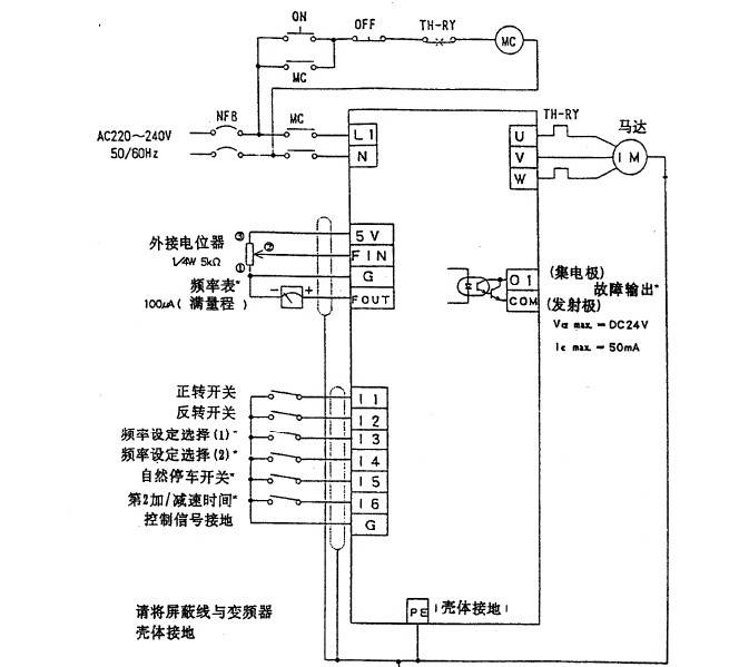 松下DV700T2200C1变频器说明书