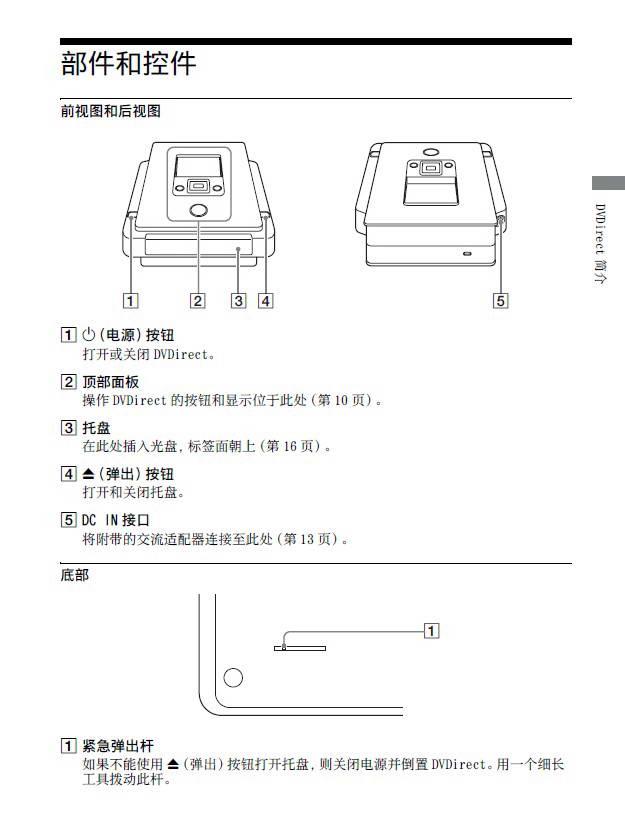 索尼刻录机VRD-MC5型说明书截图1