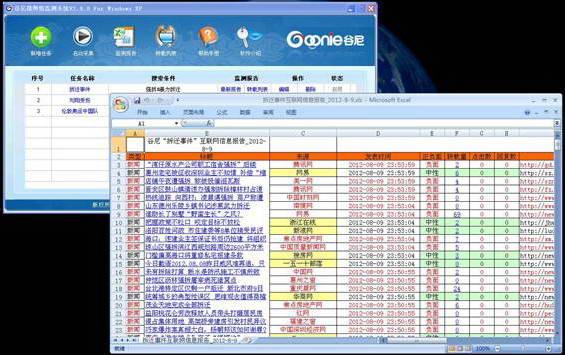 谷尼微舆情监测系统截图2