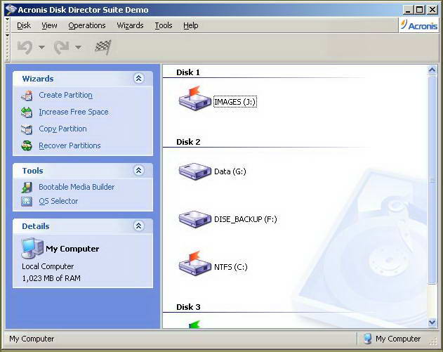 Acronis Disk Director Suite截图1