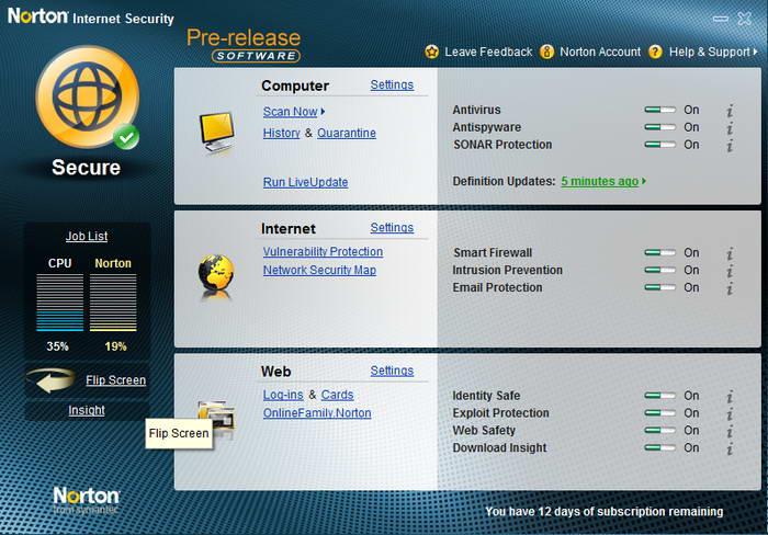 Norton Internet Security截图1