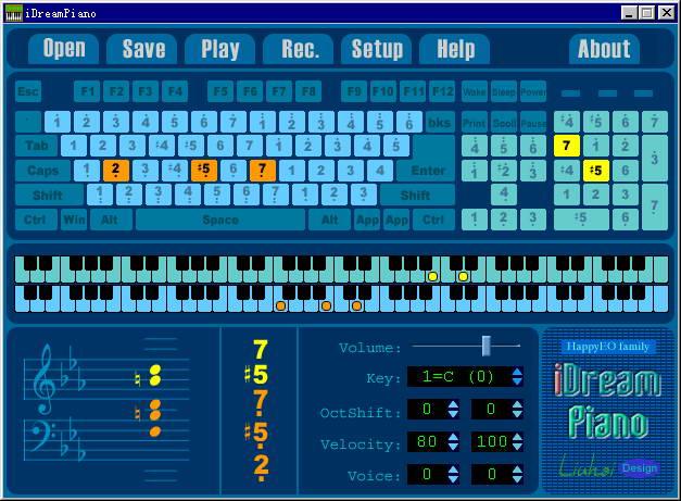 iDreamPiano钢琴模拟截图1
