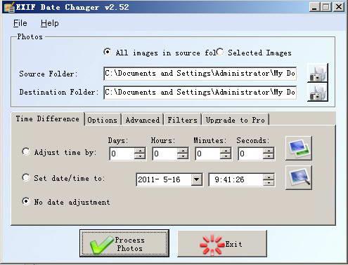 Exif Date Changer截图1