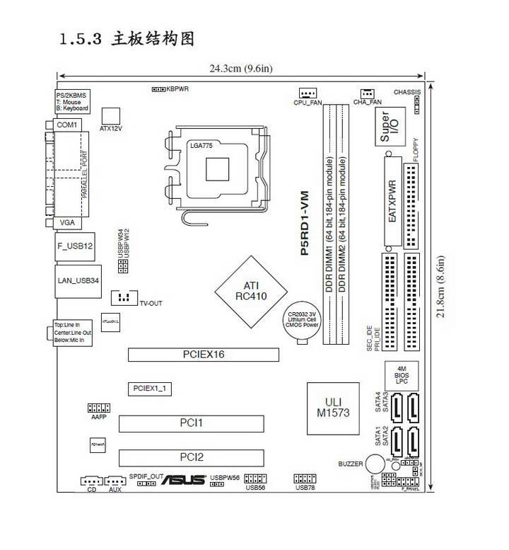 华硕P5RD1-VM主板使用说明书