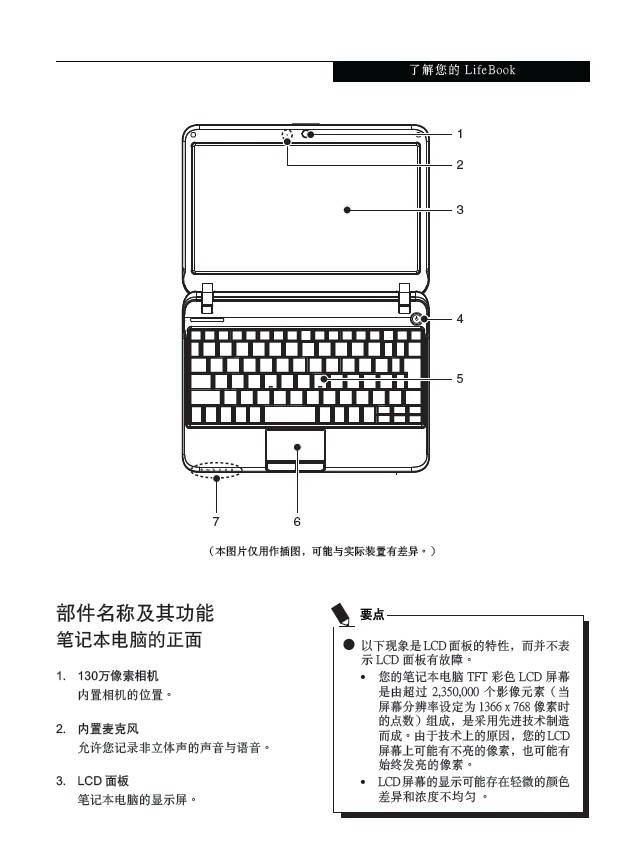 富士通Pothos PH521笔记本电脑使用说明书