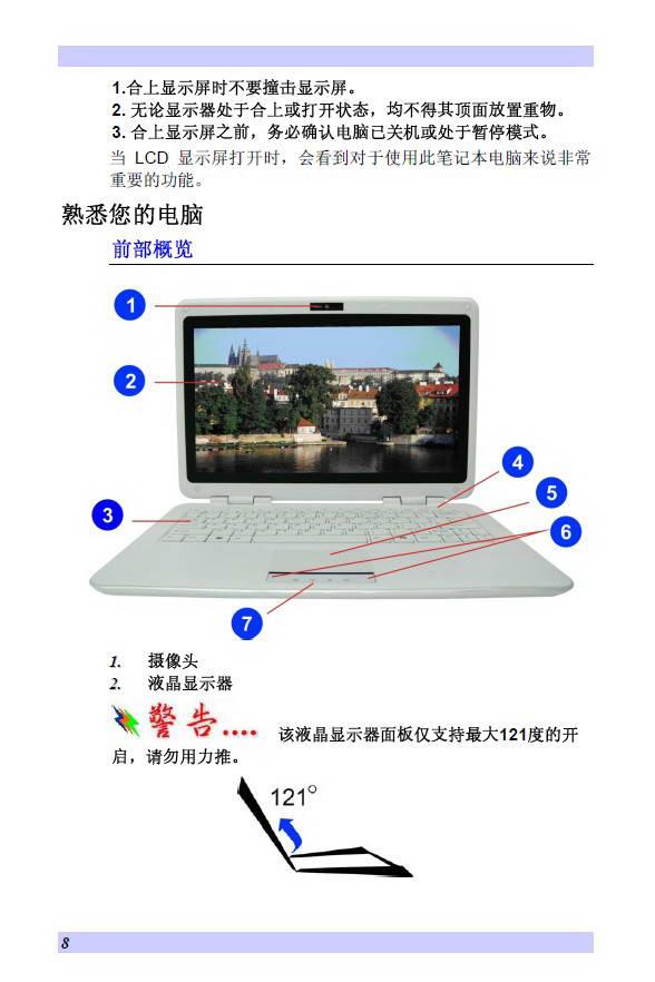 精英ECS T21IL1笔记本电脑使用说明书截图1