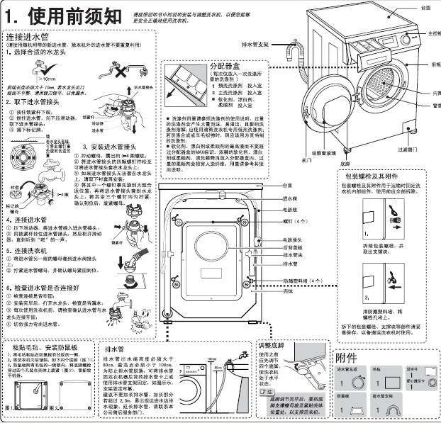 海尔XQG70-B1226A洗衣机使用说明书