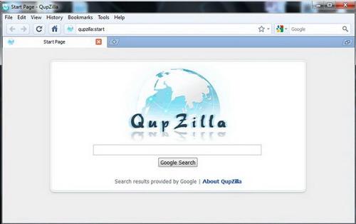 QupZilla For Linux截图1