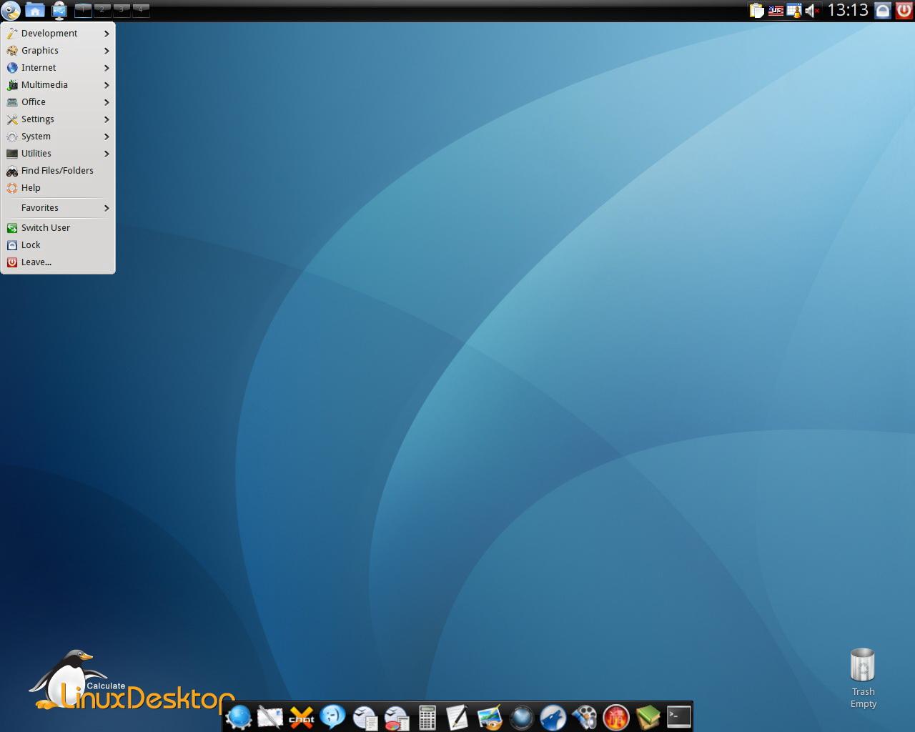Calculate Linux Scratch Server截图1