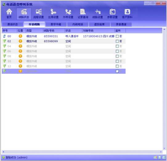 胜威呼叫中心系统-标准版截图1
