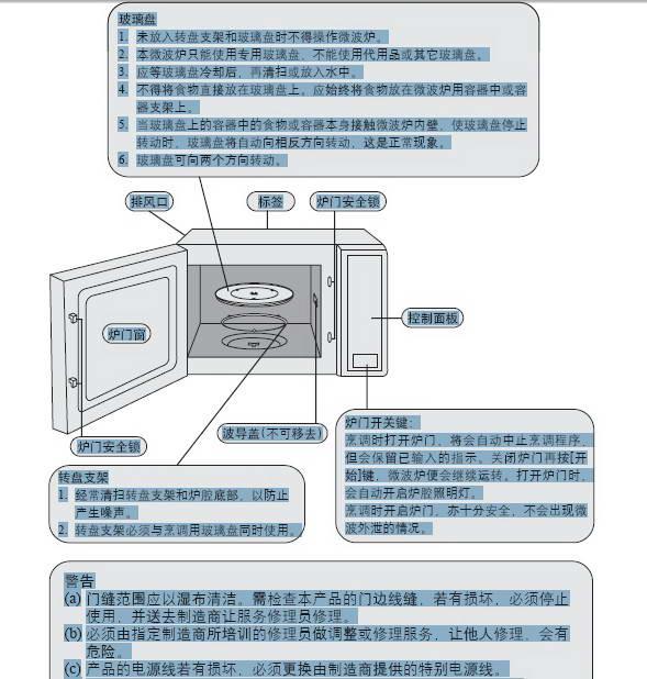 松下电器NN-S563 JF微波炉使用说明书截图1
