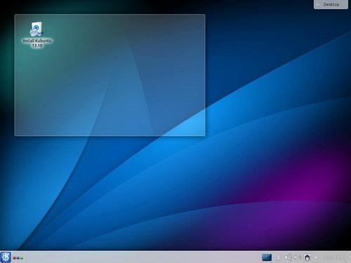 Kubuntu(64bit)截图1