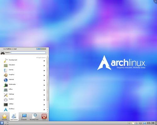 Arch Linux截图1