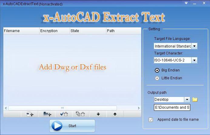 AutoCAD文本抽出截图1