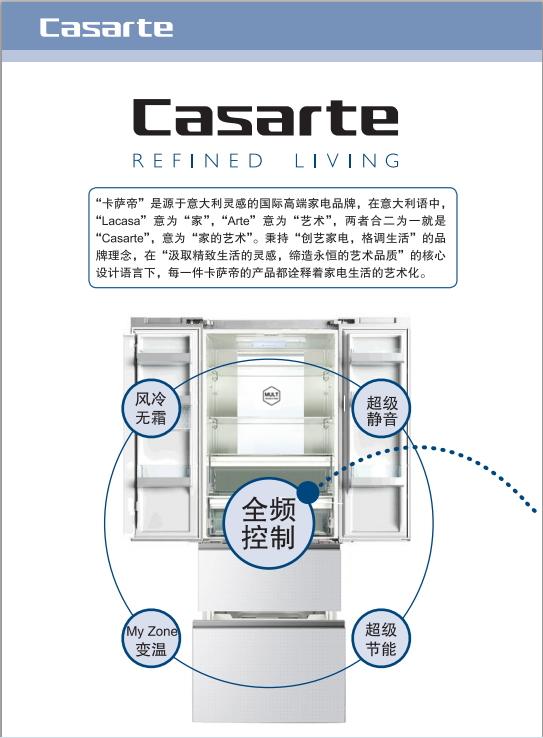 卡萨帝BCD-435WDCAU1电冰箱使用说明书截图2