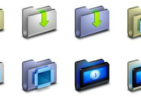 U形电脑文件夹图标截图1