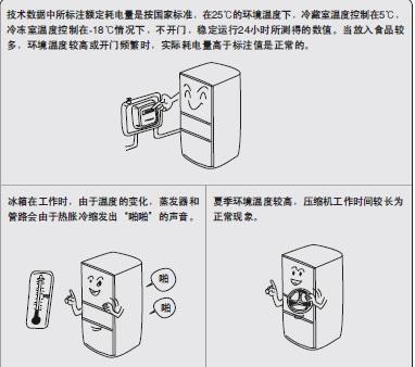 海尔冰箱BCD-278WBCS/H型说明书截图1