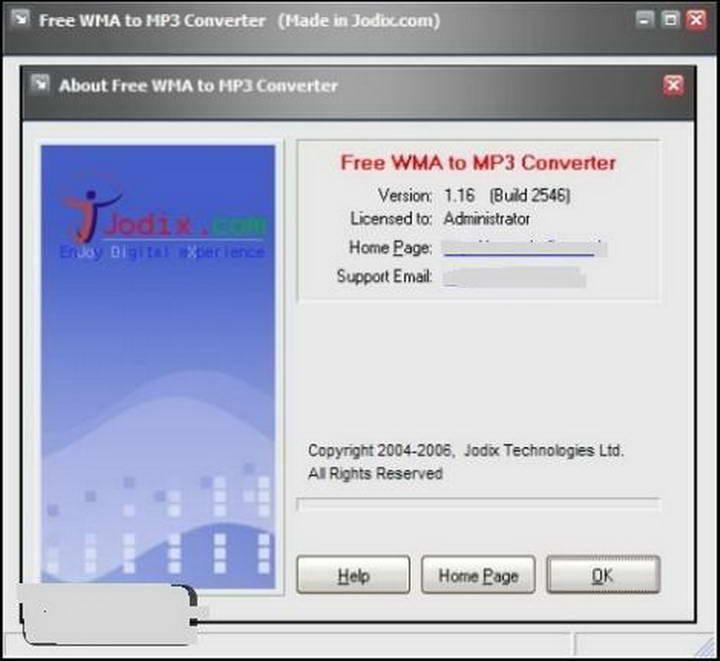 Free WMA to MP3 Converter截图1