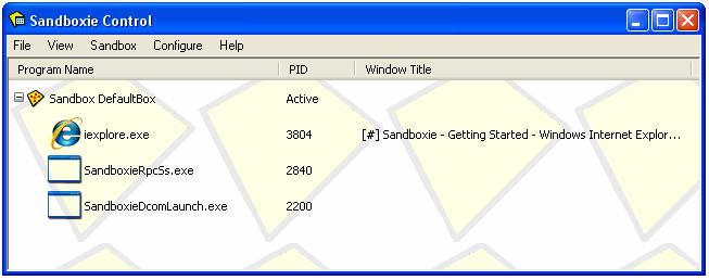 Sandboxie截图1
