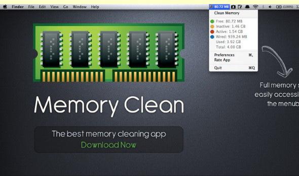 清理内存工具Memory Clean For Mac截图1