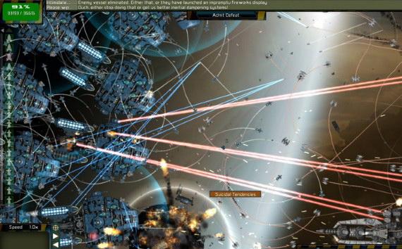 无厘头太空战役Gratuitous Space Battles For Mac截图1