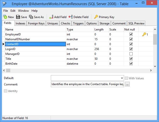 Navicat for SQL Server (64 bit)截图2