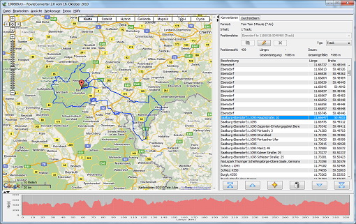 RouteConverter For Linux 64-bit截图1