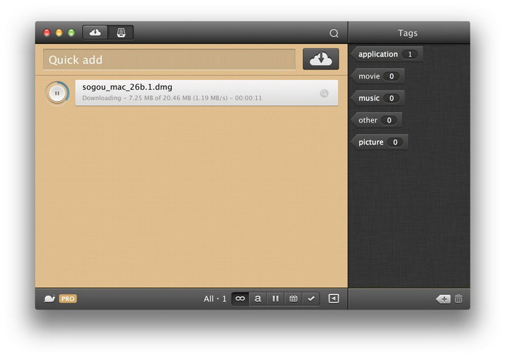 Folx Pro for Mac截图1