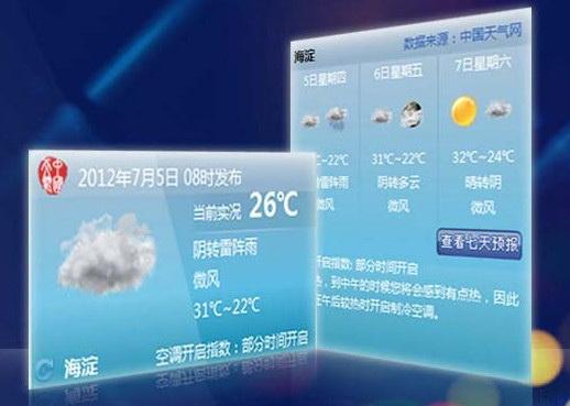 中国天气通截图1
