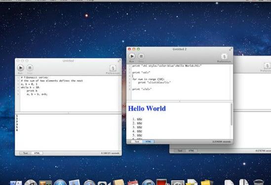Python Runner For Mac截图1