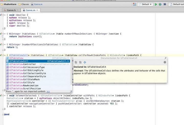 AppCode For Mac截图1