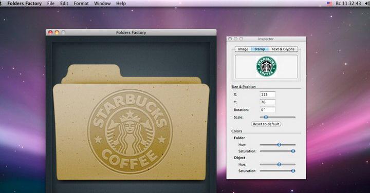 Folders Factory for MAC截图1