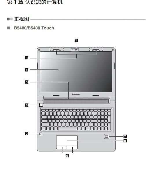 联想Lenovo M5400 touch笔记本电脑说明书截图2