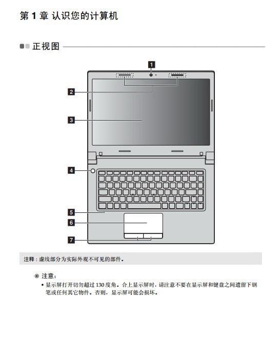 联想Lenovo B4450s笔记本电脑说明书