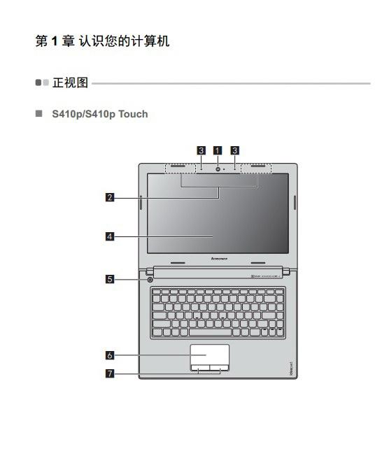 联想IdeaPad S510p touch笔记本电脑使用说明书截图2