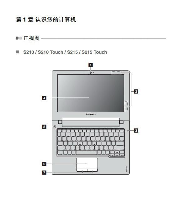 联想S215笔记本电脑使用说明书