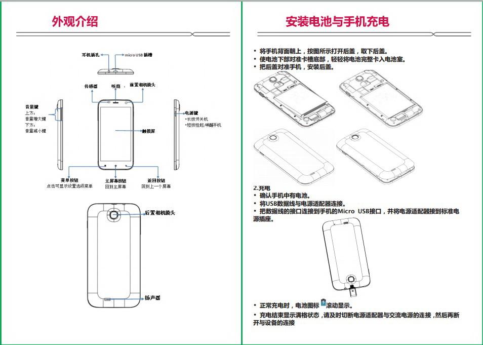 海尔HW-W860手机说明书截图2