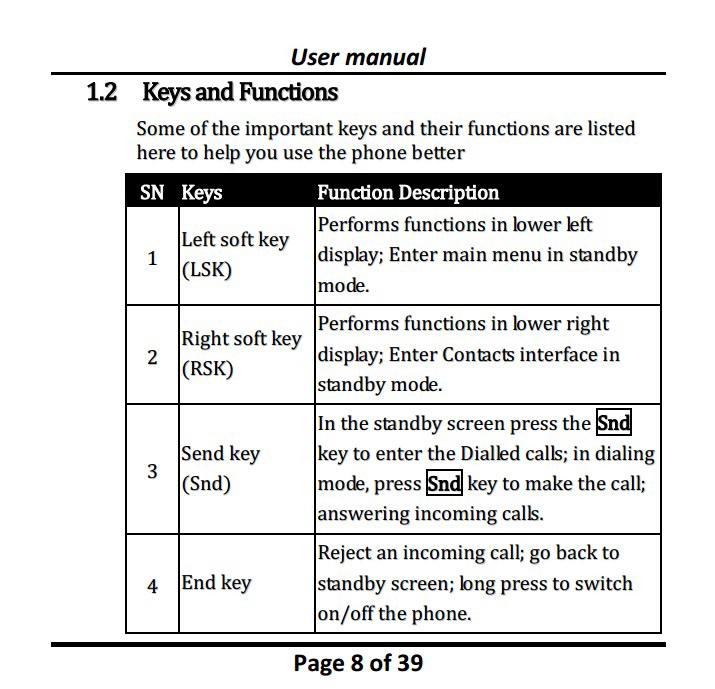 Micromax C115手机说明书截图2