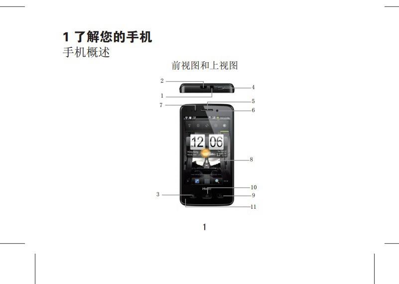 海尔HW-N75W手机使用说明书截图2