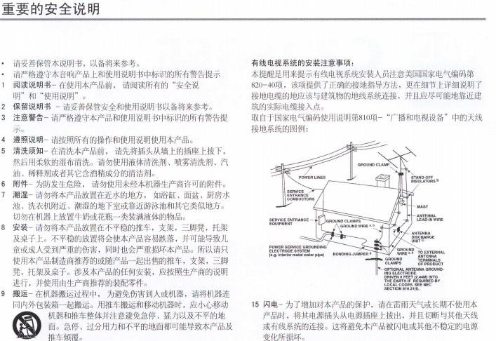 NAD C325BEE立体声合并式功率放大器使用说明书截图2