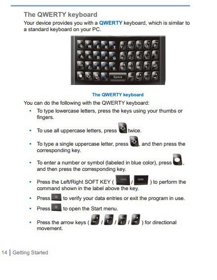 UBIQUIO 501手机说明书截图2